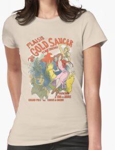 Plaisir au Gold Saucer Womens Fitted T-Shirt