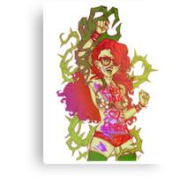Poison Ivy Activist Canvas Print