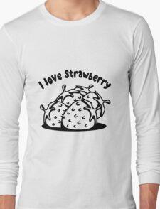 Strawberry fruit organic fruit Long Sleeve T-Shirt