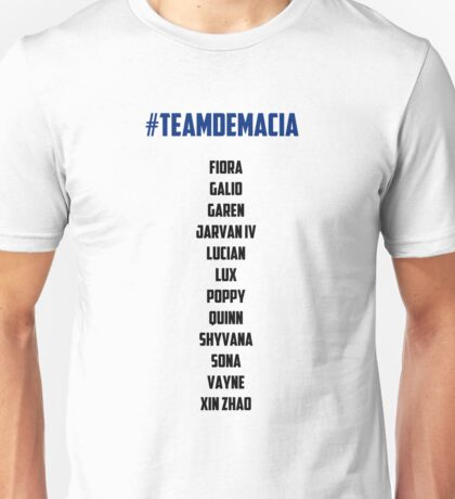 Team Demacia League of Legends Unisex T-Shirt