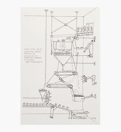 The Thyme Machine. Photographic Print