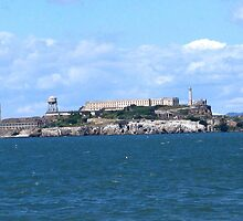 ALCATRAZ ISLAND, SAN FRANCISCO, CALIFORNIA by JAYMILO