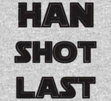 Han Shot Last One Piece - Short Sleeve