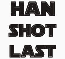 Han Shot Last Kids Clothes