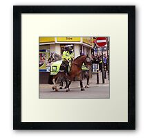 Another Quiet Day in Newport. Framed Print
