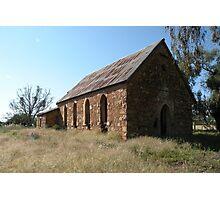Abandoned church, Goolagong, N.S.W. Photographic Print