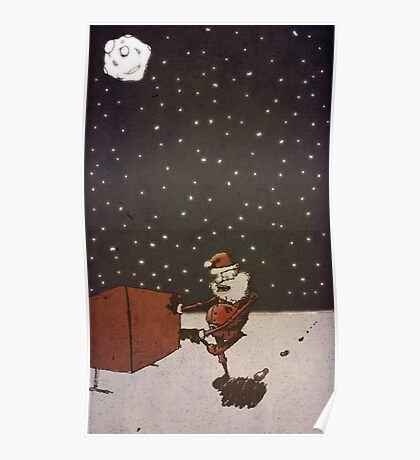 Reindeer Stains Poster