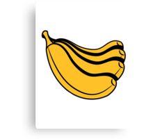 Banana fruit healthy fruit Canvas Print
