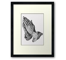 Durer - Hands Praying Framed Print