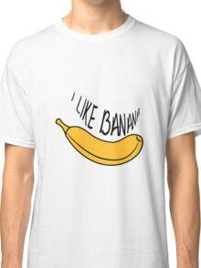 Banana fruit fruit tasty Classic T-Shirt