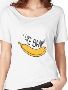 Banana fruit fruit tasty Women's Relaxed Fit T-Shirt