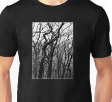 Trees b&w Unisex T-Shirt
