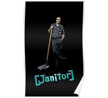 Scrubs Janitor Poster