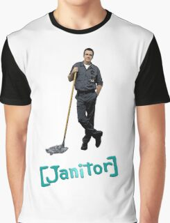 Scrubs Janitor Graphic T-Shirt