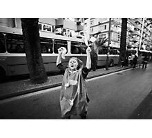 CHP Political Rally in Izmir, Turkey Photographic Print
