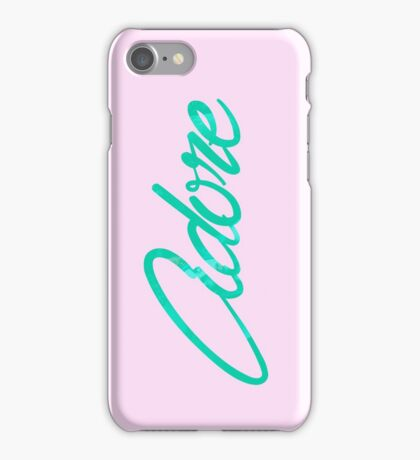 Pink/Green Adore Phone Case iPhone Case/Skin