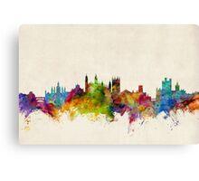 Cambridge England Skyline Cityscape Canvas Print