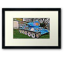 War & Peace Framed Print