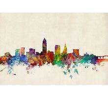 Cleveland Ohio Skyline Cityscape Photographic Print
