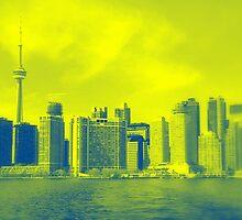 Toronto Downtown View by Valentino Visentini