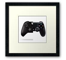 PlayStation Vs. Xbox One Framed Print