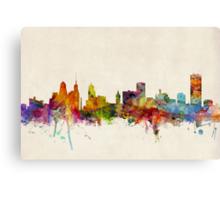 Buffalo New York Skyline Cityscape Canvas Print