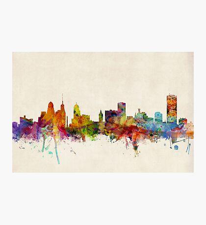 Buffalo New York Skyline Cityscape Photographic Print