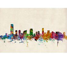 Jersey City New Jersey Skyline Photographic Print