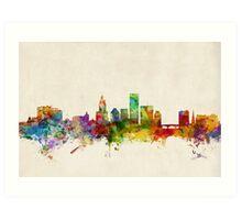Providence Rhode Island Skyline Art Print