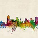Memphis Tennessee Skyline Cityscape by ArtPrints