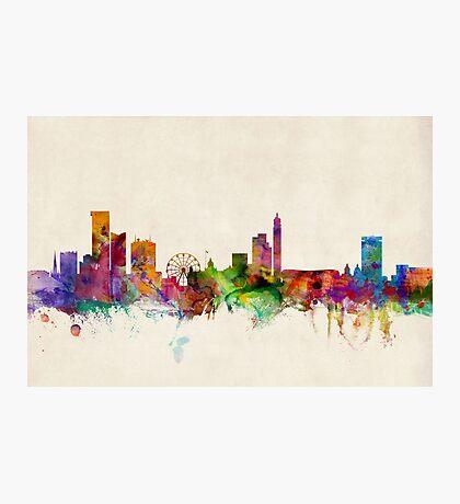 Birmingham England Skyline Cityscape Photographic Print