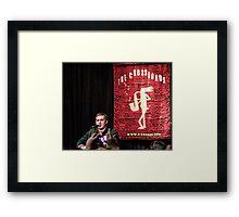 Brian Fallon Acoustic Framed Print