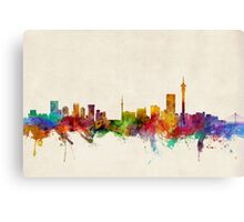 Johannesburg South Africa Skyline Canvas Print