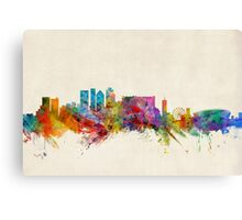 Cape Town South Africa Skyline Canvas Print