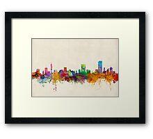 Pretoria South Africa Skyline Framed Print