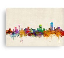 Pretoria South Africa Skyline Canvas Print