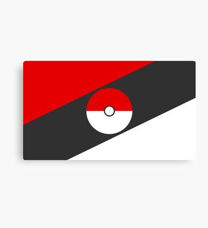 Pokemon Nation Flag Canvas Print