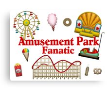 Amusement Park Fanatic Canvas Print