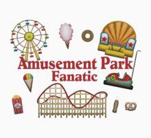 Amusement Park Fanatic by FireFoxxy