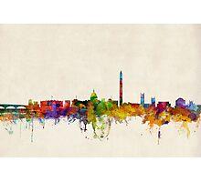 Washington DC Skyline Skyline Photographic Print