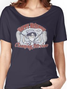 Happy Heichou Cleaning Service Women's Relaxed Fit T-Shirt