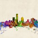 Milwaukee Wisconsin Skyline Cityscape by ArtPrints