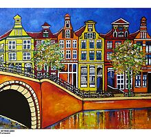 Amsterdam canal by ROB51