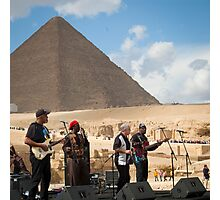 Jazz for the Pharaoh  Photographic Print