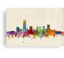 Oklahoma City Skyline Cityscape Canvas Print