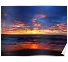 Salvo Sunrise Poster