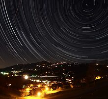 Beech Mountain Parkway Star Trail by William Mauney