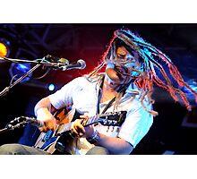 Ash Grunwald - Musician Closeup Photographic Print