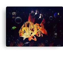 Corpse Fish Canvas Print