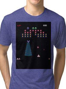 Galaga or Galaxian Tri-blend T-Shirt